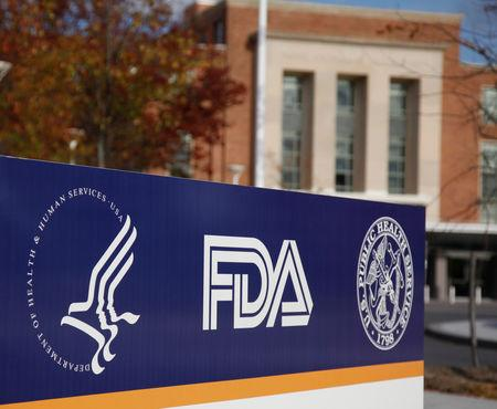 FILE PHOTO: The headquarters of the U.S. Food and Drug Administration (FDA) is seen in Silver Spring, Maryland