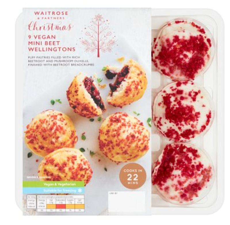 Waitrose Vegan Beet Wellingtons, Waitrose (Photo: HuffPost UK)