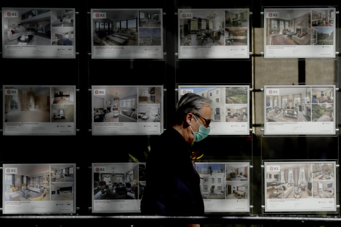 Property prices averaged £338,000 in England in June so far, up 1.9% on March, according to Rightmove. (Matt Dunham/AP Photo)