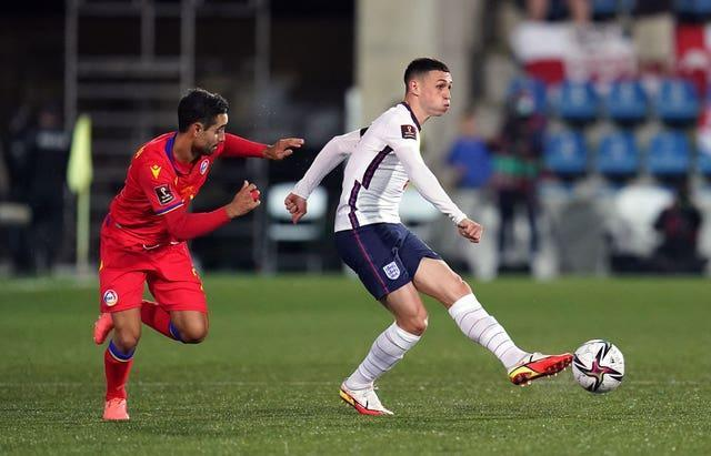 Phil Foden was in fine form as England won in Andorra.