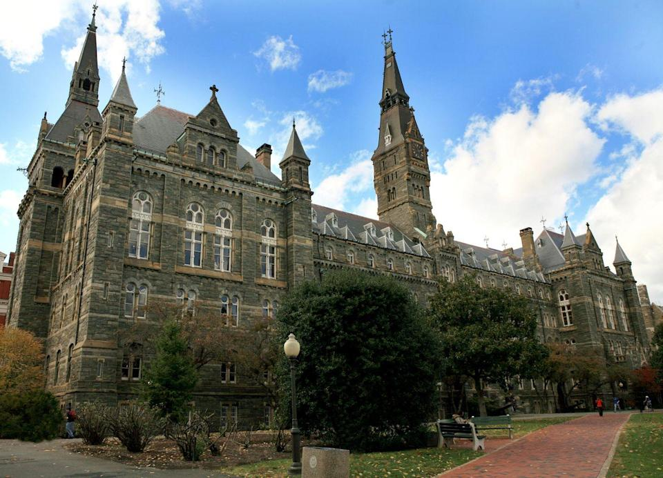 "<p>Peter Dameris managed to walk away with only one day in prison after paying $300,000 to have his son recruited to Georgetown as a tennis player. He did, however, get put on three years of supervised release, 12 months of which will be in home confinement, per <a href=""https://www.cbsnews.com/news/peter-dameris-georgetown-university-admissions-bribe-home-confinement/"" rel=""nofollow noopener"" target=""_blank"" data-ylk=""slk:CBS"" class=""link rapid-noclick-resp"">CBS</a>.</p>"