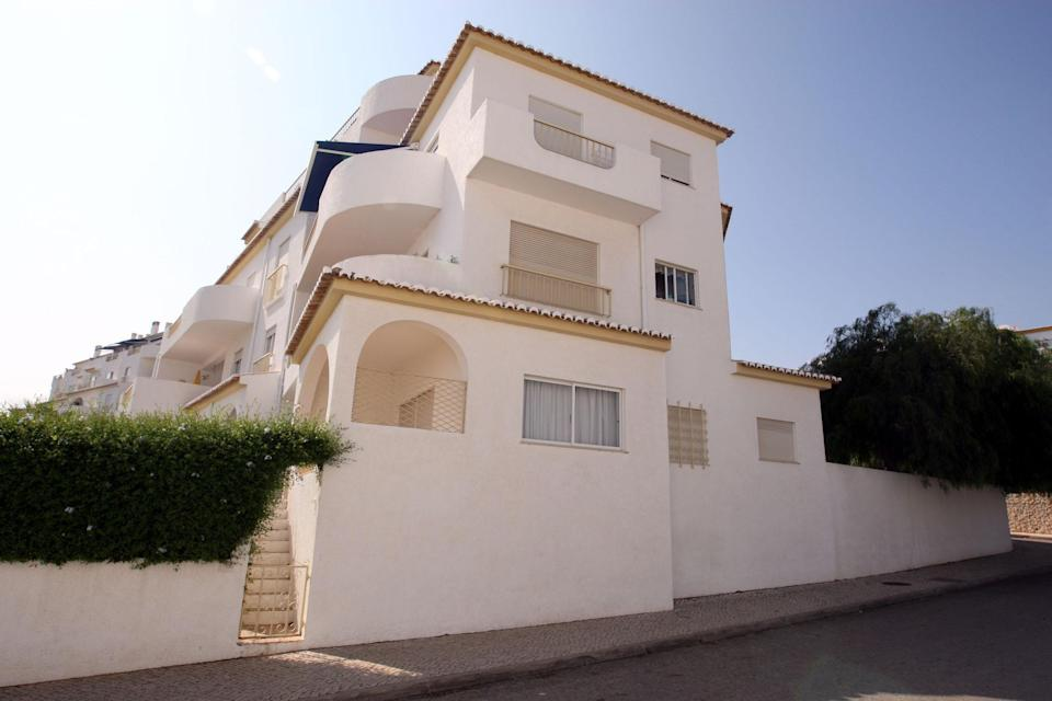 File photo dated 16/09/07 of the ground floor apartment in Praia Da Luz from where Madeleine McCann went missing. A German prisoner has been identified as a suspect in the disappearance of Madeleine, detectives have revealed. The Metropolitan Police have not named the man, 43, who is described as white with short blond hair, possibly fair, and about 6ft tall with a slim build.