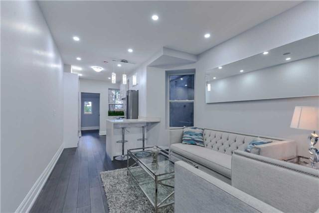 <p><span>333 Highfield Rd., Toronto, Ont.</span><span> <br>Potlights and speakers have been installed throughout the home, too.<br> (Photo: Zoocasa)</span><br><br></p>