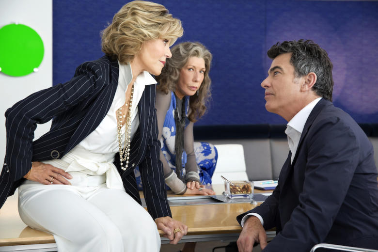 Grace And Frankie Season 3 Lily Tomlin Jane Fonda Peter Gallagher