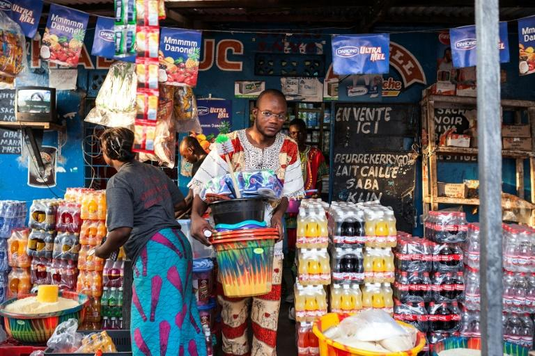 In DR Congo's capital Kinshasa, many speak French and Lingala