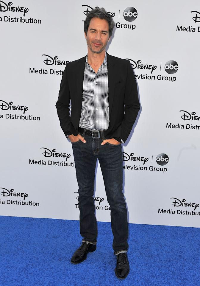 BURBANK, CA - MAY 19:  Actor Eric McCormack arrives at the Disney Media Networks International Upfronts at Walt Disney Studios on May 19, 2013 in Burbank, California.  (Photo by Angela Weiss/Getty Images)