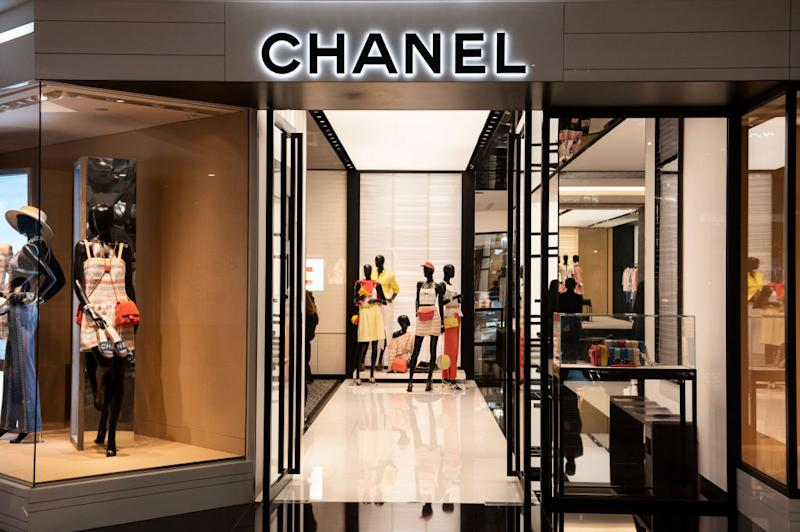 HONG KONG - 2019/05/15: French multinational Chanel clothing and beauty products brand store is seen in Hong Kong. (Photo by Budrul Chukrut/SOPA Images/LightRocket via Getty Images)