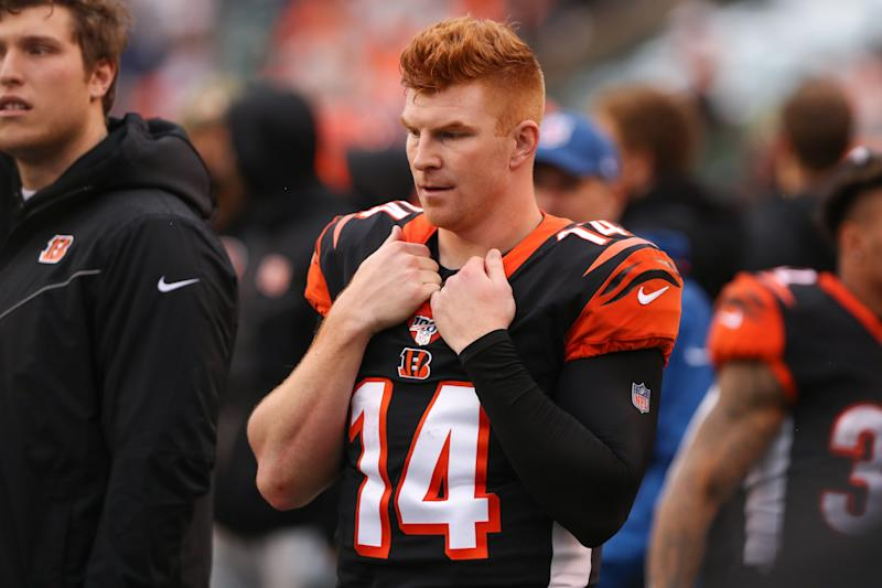 There were plenty of signs that the Bengals were going to move on from Andy Dalton last year. He was officially cut on Thursday.