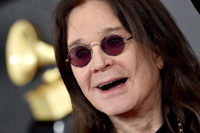 LOS ANGELES, CALIFORNIA - JANUARY 26: Ozzy Osbourne attends the 62nd Annual GRAMMY Awards at Staples Center on January 26, 2020 in Los Angeles, California. (Photo by Axelle/Bauer-Griffin/FilmMagic)