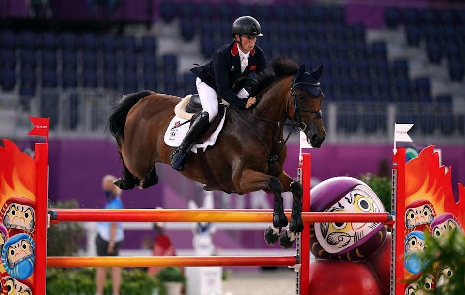 Tom McEwen in action during the Tokyo Olympics (Adam Davy/PA) (PA Wire)