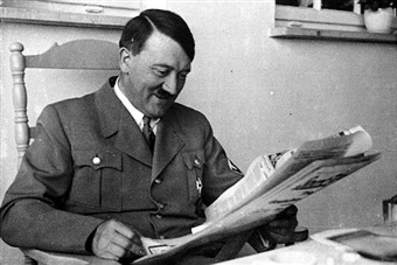 German Chancellor Adolf Hitler pictured at his Obersalzberg, Bavaria Home, 5th April 1935 (Photo by Popperfoto/Getty Images)
