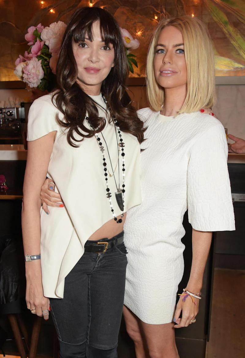 Annabelle Neilson (L) with ladies of London co-star Caroline Stanbury (Dave Benett)
