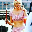 """<p>Samantha Jones, er, Kim Cattrall used an iconic <em>Sex and the City</em> outfit to wish her followers a happy Fourth of July. No complaints here! (Photo: <a rel=""""nofollow noopener"""" href=""""https://www.instagram.com/p/BWILpilABK8/"""" target=""""_blank"""" data-ylk=""""slk:Kim Cattrall via Instagram"""" class=""""link rapid-noclick-resp"""">Kim Cattrall via Instagram</a>)<br><br></p>"""