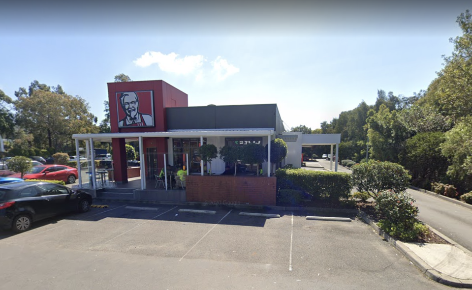 KFC Mona Vale is pictured.