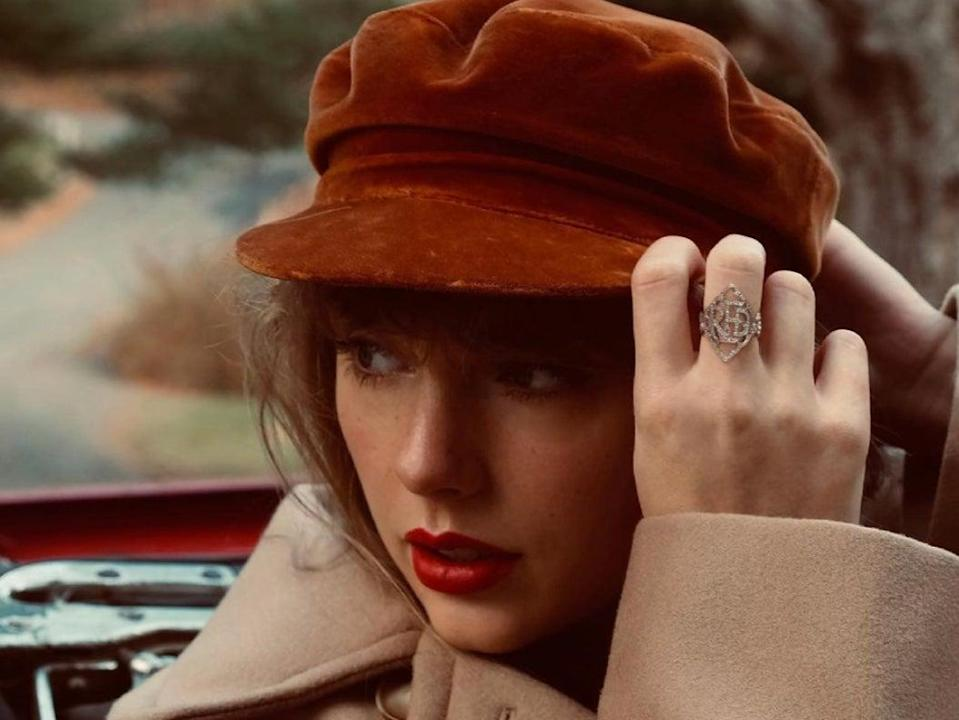 Taylor Swift to release re-recorded version of Red in November: 'Red resembled a heartbroken person'  (Instagram)