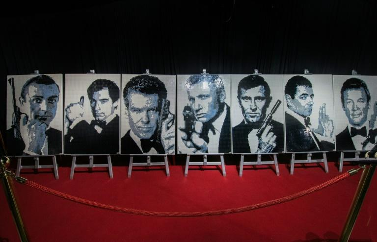 Bond has previously been played by stars including Sean Connery, Roger Moore and Pierce Brosnan (AFP/Ezequiel BECERRA)