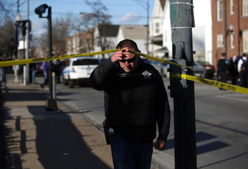 According to the Chicago Tribune newspaper 1,008 people have been shot in the city -- at least 182 fatally -- since the beginning of January 2017