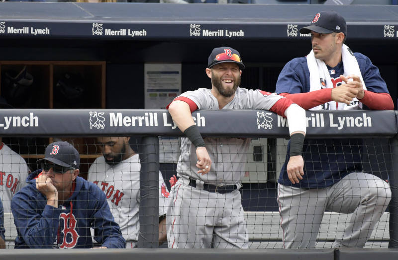 The Boston Red Sox are accused of using an Apple Watch to relay the opposing team's signs through their dugout. (AP)