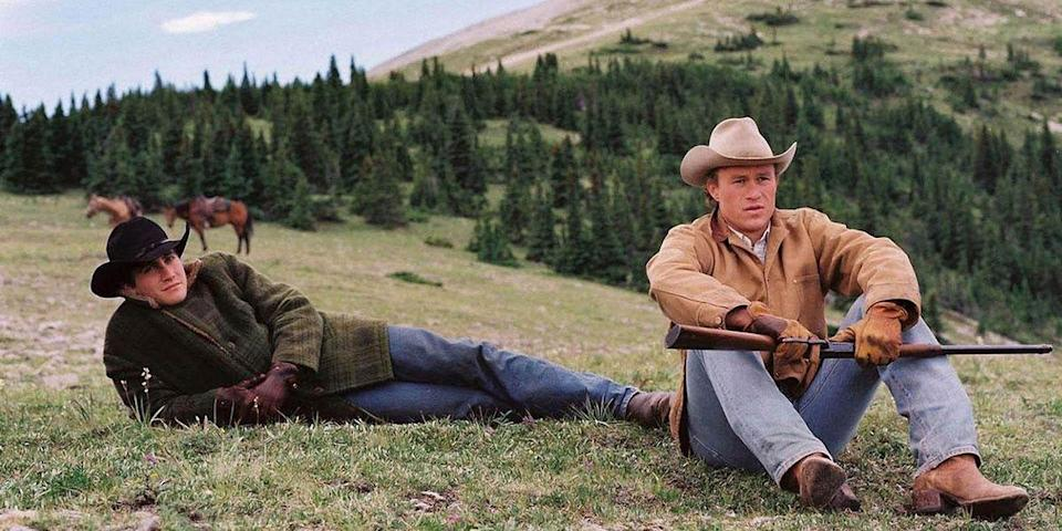 "<p>Ang Lee's meditative adaptation about the taboo, two-decade romance shared by a pair of cowboys in the American West marks the pivotal moment when gay cinema went mainstream. As groundbreaking as it is heartbreaking, the film is a tender and unforgettable love story. <a class=""link rapid-noclick-resp"" href=""https://www.amazon.com/dp/B000I9TXK6?tag=syn-yahoo-20&ascsubtag=%5Bartid%7C10056.g.6498%5Bsrc%7Cyahoo-us"" rel=""nofollow noopener"" target=""_blank"" data-ylk=""slk:Watch Now"">Watch Now</a></p>"