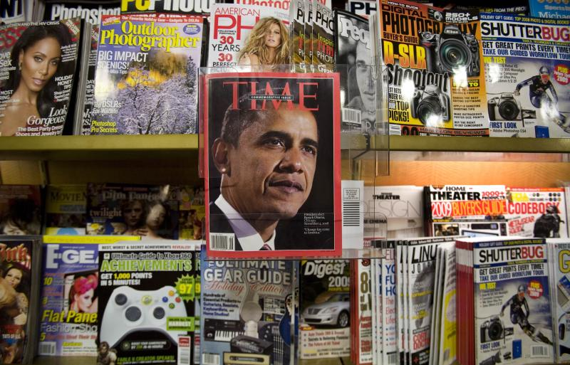 Time Warner spinning off Time Inc. magazines