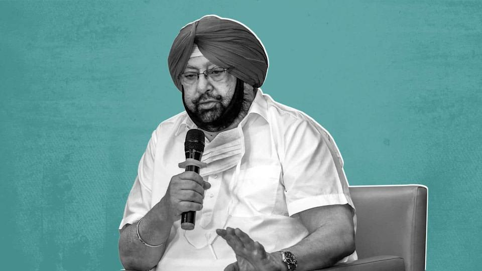 Amarinder Singh quits as Punjab CM amid pressure from Congress
