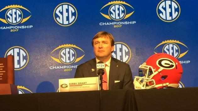 <p>SEC championship: Georgia, Kirby Smart planted on solid ground in unstable SEC</p>