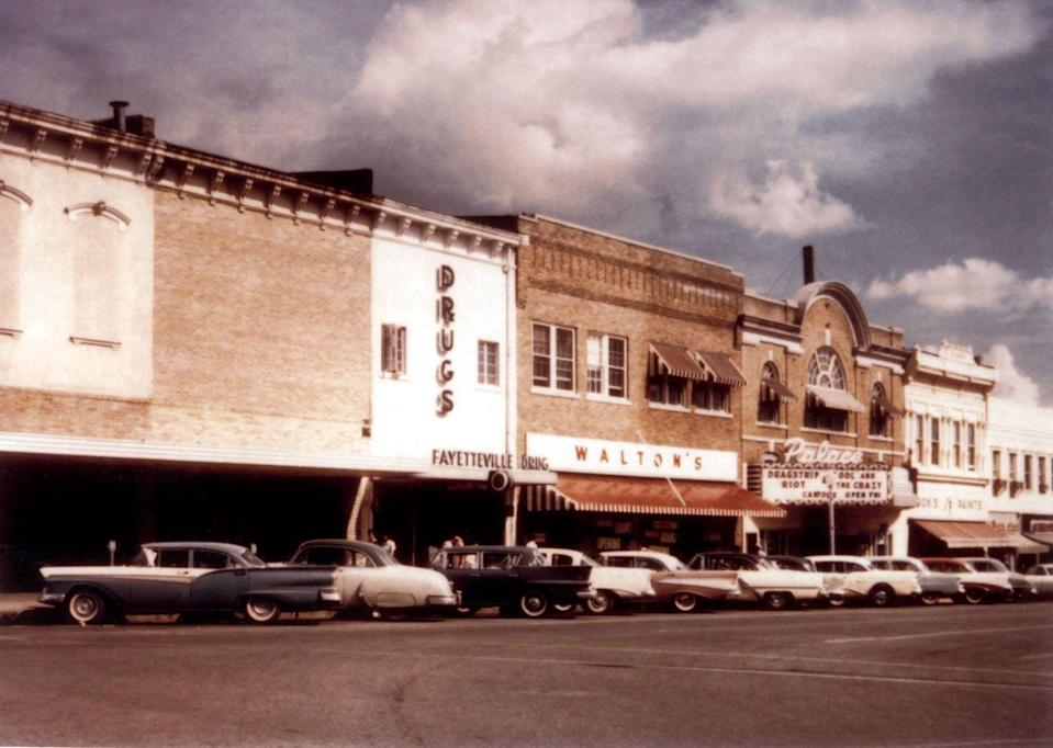 <p>As popularity grew, several more stores began to pop up in the Arkansas and Missouri area. </p><p>Photo: Courtesy of The Walmart Museum</p>