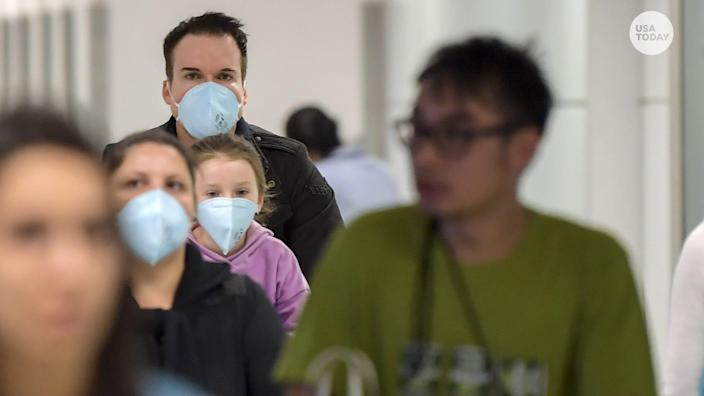 The coronavirus has not yet reached pandemic levels, health official says