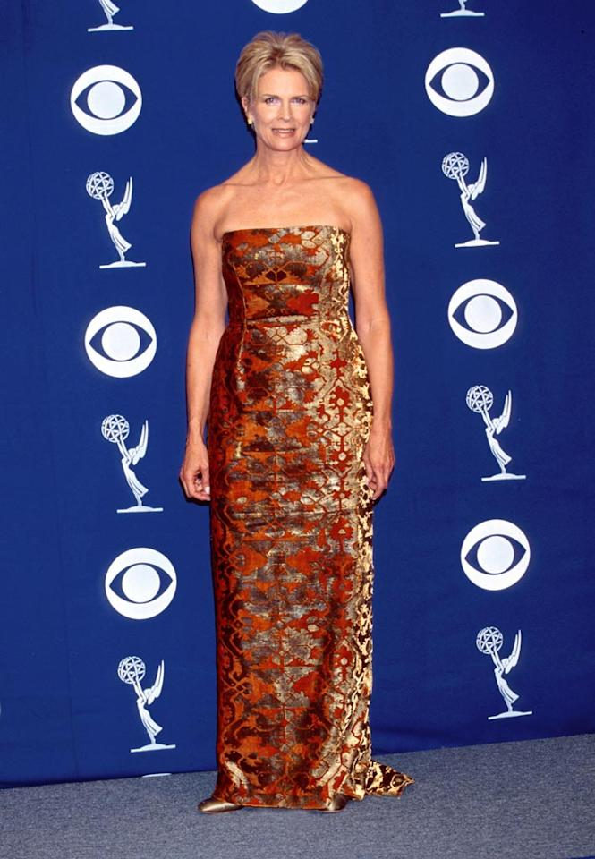 Candice Bergen at the 50th Annual Primetime Emmy Awards in Los Angeles.