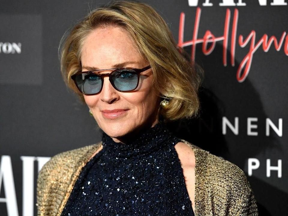 Sharon Stone at an event on 4 February 2020 in Century City, California (Frazer Harrison/Getty Images)