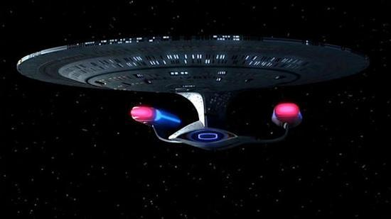 """The USS Enterprise (NCC-1701-D) appeared in the Star Trek: The Next Generation episode, """"All Good Things ... """" The ship appeared in an alternate future in which it had not crashed during the """"Star Trek: Generations"""" movie, and had instead began"""