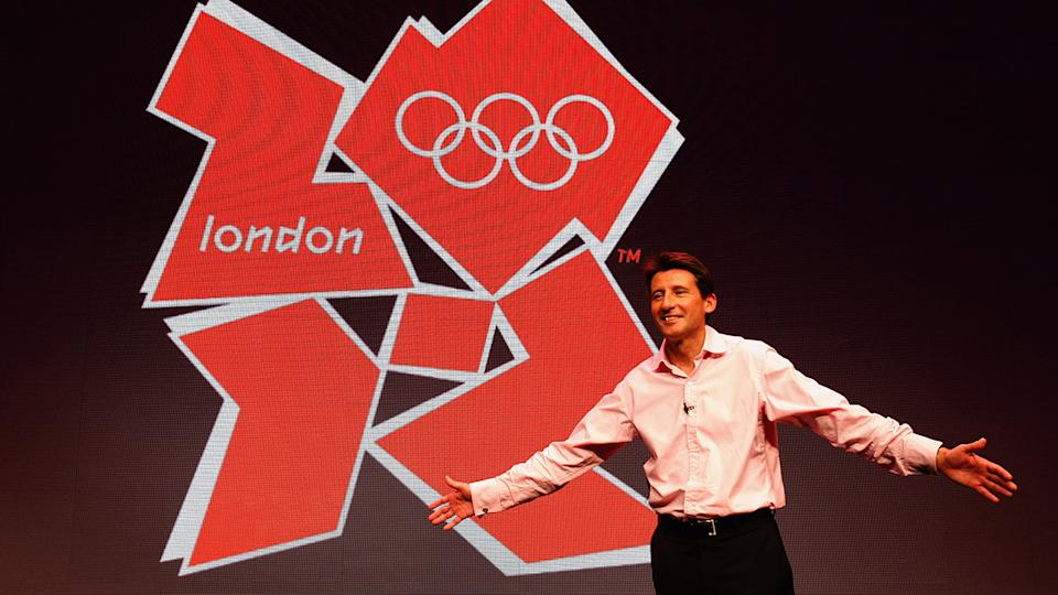 Lord Sebastian Coe, pictured here at the launch of the 2012 Olympic logo.