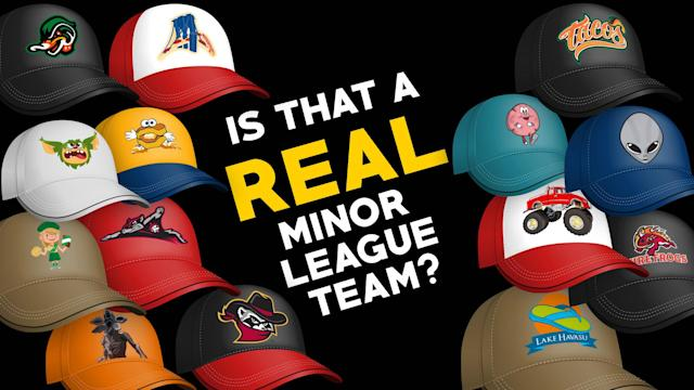 Take our test: Is this a real or fake Minor League Baseball team?