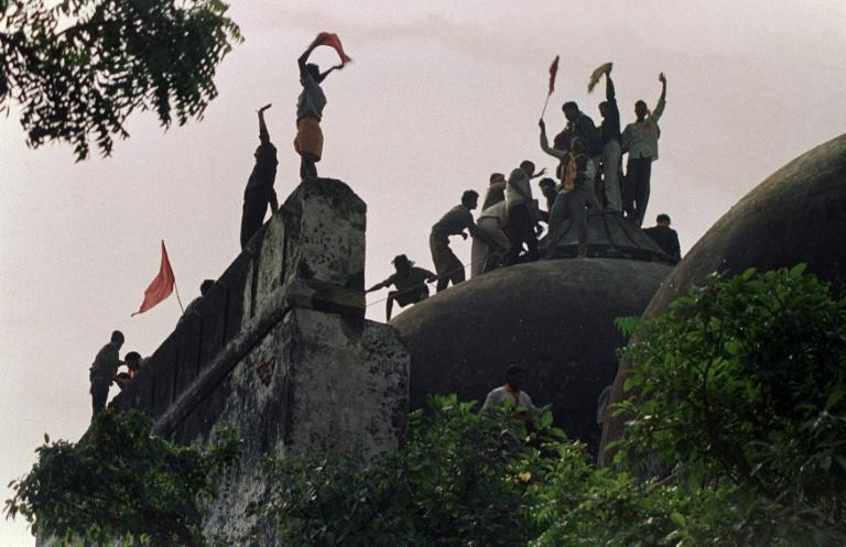 The demolition of the Babri mosque in the northern state of Uttar Pradesh sparked nationwide riots in which thousands were killed, most of them Muslims