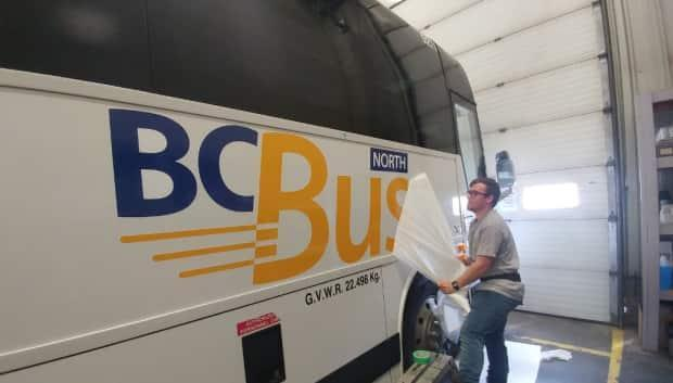 B.C.'s Office of the Auditor General is examining the sustainability of B.C. Bus North, a ground transportation services jointly funded by the provincial and federal governments for residents of remote northern communities. (B.C. Transit - image credit)