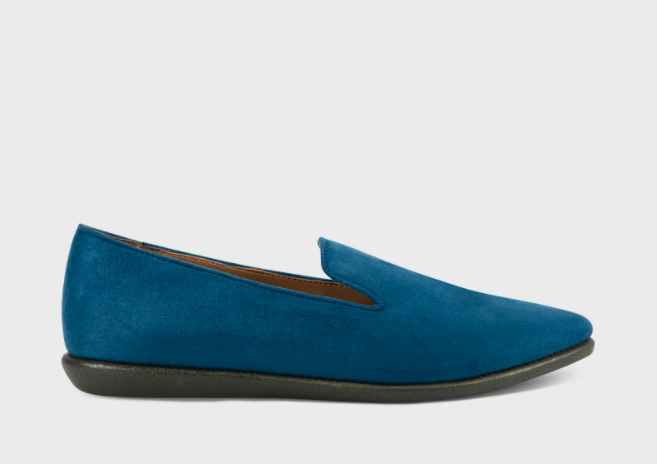 Vienitu Faux Suede Loafers. Image via Aerosoles.