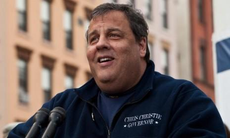 On Election Night, Gov. Chris Christie revealed his winning sense of humor in 140 characters or less.