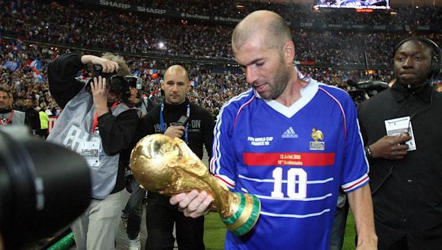 <p>It was just four short years between France failing to qualify for the 1994 World Cup in the United States and lifting the trophy on home in 1998.</p> <br><p>In qualifying for 1994, a draw in the final game at home against Bulgaria would have been sufficient to see <em>Les Bleus</em> through. But a poor cross from David Ginola set up a Bulgarian counter attack in the final minute to send them to the finals at France's expense.</p> <br><p><strong>Status in 2018:</strong> One point clear at the top of UEFA Group A with two games remaining</p>