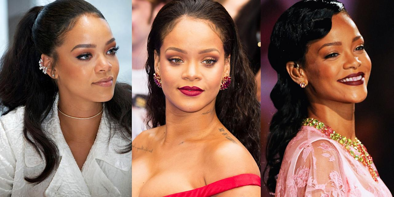 "<p>Rihanna is as cool as they come. She's not only a Grammy-winning artist, but she boasts an behemoth fashion and beauty empire, <a href=""http://www.marieclaire.com/beauty/a33298435/fenty-beauty-sale-july-2020/"" target=""_blank"">Fenty</a>—and we can't forget about <em><a href=""https://www.amazon.com/Rihanna-Book/dp/0714878014?tag=syn-yahoo-20&ascsubtag=%5Bartid%7C10058.g.33446028%5Bsrc%7Cyahoo-us"" target=""_blank"">The Rihanna Book</a>, </em>a 504-page coffee table book featuring over 1,000 of the best photos of Rih ('cause, duh). The powerhouse from Barbados has been on our radar since 2005 and has already given us a lifetime of beauty and fashion looks to fawn over. I mean, I still think about <a href=""https://www.marieclaire.com/fashion/a30563883/rihanna-airport-glitter-heels-sweats/"" target=""_blank"">her airport look </a>consisting of sweatpants, a sweatshirt, and glittery heels <em>nightly</em>. </p><p>So, yes, at <em> Marie Claire, </em>we're very into <a href=""http://www.marieclaire.com/fashion/g32391327/rihanna-style/"" target=""_blank"">her fashion choices</a>, but we also can't stop obsessing over her beauty looks. After all, it's what she's working on these days while <a href=""https://www.marieclaire.com/celebrity/a30311907/rihanna-new-album-r9-instagram/"" target=""_blank"">teasing us</a> of that long-awaited ninth album. But that battle is for another day—we're here to talk about one of life's greatest treasures: Riri's hair. The woman can rock anything, and we have 15 years' worth of photos to prove that statement. So sit back, relax, and get ready to take a trip down Robyn's hair memory lane. </p>"