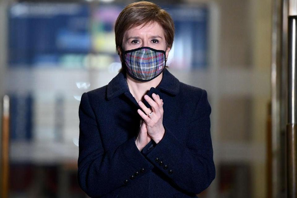 <p>Scotland's First Minister Nicola Sturgeon is leading the nation towards independence</p> (Getty Images)