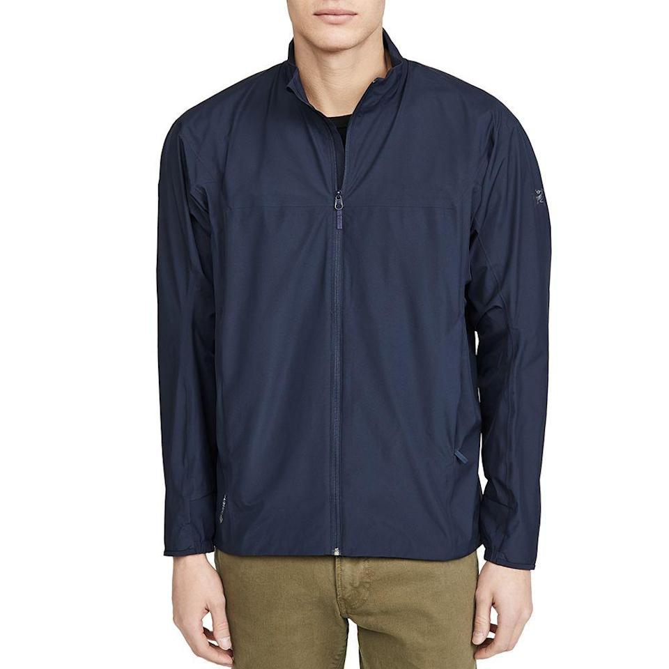 "<p><strong>Arc'Teryx</strong></p><p>eastdane.com</p><p><strong>$209.00</strong></p><p><a href=""https://go.redirectingat.com?id=74968X1596630&url=https%3A%2F%2Fwww.eastdane.com%2Fsolano-full-zip-jacket-arcteryx%2Fvp%2Fv%3D1%2F1590682521.htm&sref=https%3A%2F%2Fwww.menshealth.com%2Fstyle%2Fg32904980%2Fbest-rain-jackets-for-men%2F"" rel=""nofollow noopener"" target=""_blank"" data-ylk=""slk:BUY IT HERE"" class=""link rapid-noclick-resp"">BUY IT HERE</a></p><p>Arc'Teryx jackets are meant to last a lifetime, so if you're looking for a longterm rain jacket, let it be this one. It uses Gore-Tex protection, arguably the best waterproof material on the market.</p>"