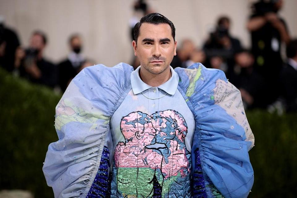 Dan Levy and Loewe's Jonathan Anderson took inspiration from gay artist and AIDS activist David Wojnarowicz (Getty Images for The Met Museum/)