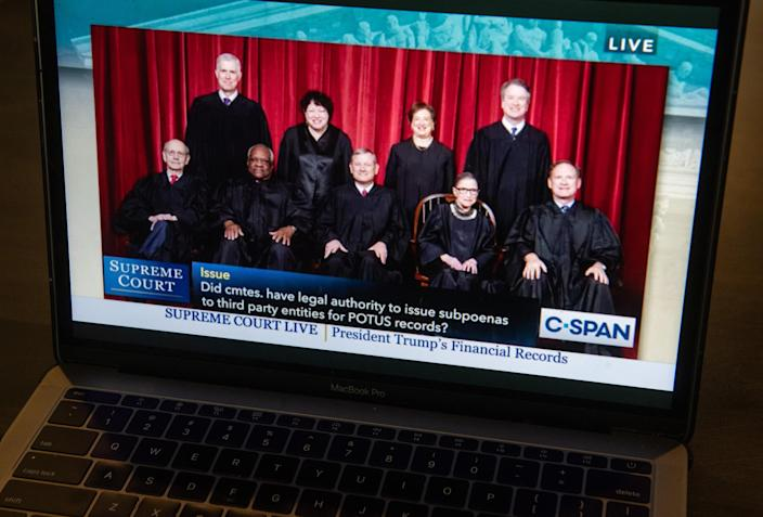 An audio feed of Supreme Court oral arguments