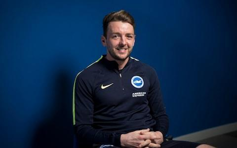 "Dale Stephens is closing in on membership of an exclusive footballing club. This season he has been on the pitch for every second of every Premier League match Brighton have played. If he can maintain his record over the remaining ten games he will do what only Steve Cook of Bournemouth, Ben Gibson of Middlesbrough and Chelsea's Cesar Azpilicueta managed last year: play a complete Premier League season. And unlike that trio, who are all defenders, Stephens plays in central midfield, obliged to run all over the pitch, something he has managed to do for 90 minutes week in week out. ""I'm not sure I'm running as hard in the 90th minute as I am in the first,"" he smiles, as he sits insulated from the chill inside Brighton's smart training centre in Lancing. ""It depends on what score it is. If we're seeing out the game I won't be running far. I'll be sat in front of the back four protecting what we've got. That said it would be a wonderful achievement personally and something I would appreciate."" The achievement would be all the more telling for Stephens because it would offer tangible proof that he belongs at the highest level. A hugely popular presence among Brighton fans for his relentless work rate, Stephens is a rarity among top-flight players in that he has played in every division from the National League North to the Premier League. And he suggests each upward advance has come with a degree of trepidation. ""The biggest thing for me is mentally stepping up. Even playing against Conference North players as a 17 year old scholar you're asking yourself: can you compete? Same when you go from the Conference to League Two, League Two to League One, it's always a question in your mind: can you actually do it? It's no different going from the Championship to the Premier League. The first few games you're obviously nervous, there's a bit of doubting yourself, questioning whether you actually can play at this level. It's been the same throughout my career."" He began as a trainee at Bury, down the road from his home town of Bolton. It was, he recalls, a tough apprenticeship. Not least one weekly training exercise. ""We were made to run up every terrace at Gigg Lane. We had to sprint up every set of stairs along the main stand and then sprint all the way back and do it again. We used to do that on the Wednesday before a reserve game. I've been brought up in that old school environment."" And he believes the incremental progress of his career – from Bury to Oldham to Charlton and then to Brighton in the summer of 2014 - has equipped him for each fresh challenge. So much so, he is glad the chance to rise to the top did not come earlier. Dale Stephens moved to the AMEX in 2014 after three years at Charlton Credit: Christopher Pledger ""When I was 22 I could have gone to Aston Villa under Paul Lambert from Charlton. I'd only played a full season at League One level. Probably as well I didn't. Because I wasn't the player then I feel I am now. Even though it's taken me to the age of 28, it's probably come at the right time."" Though there were moments, he adds, when he feared the opportunity might have passed him by. Not least when Brighton, then still in the Championship, turned down a substantial bid from newly promoted Burnley in the summer of 2016. ""Yeah, it does go through your mind. Obviously 28 is quite late to be making your Premier League debut. But I'm happy the way it's turned out."" Though he admits he had to pinch himself when it finally happened. He recalls the moment he lined up for his Premier League debut last August against Manchester City he felt more than a little star struck. ""All the build-up pre-season and you're up against the top players, yeah you do get a bit more nervous,"" he says. ""When you see yourself as just a normal fella from down the street it comes as a bit of a culture shock."" Though, he adds, he quickly came to realise that, whatever the financial gap, the players in the top flight were no different from their less elevated peers. Stephens wins the ball from Marc McNulty in Brighton's 3-1 FA Cup win Credit: Getty Images ""It's something I've thought a lot about,"" he says. ""When you are playing in the lower divisions you look up to these people like they are heroes but when you play against them you see they are normal human beings and I'm not different."" It is, he adds, important for the mindset of the newly promoted: they need quickly to rid themselves of any sense of inferiority if they are to survive. And he believes at Brighton the manager Chris Hughton (the best he has ever worked with, he says) and the core of British players have developed a belief that they belong. It is a confidence evident not just in their progress to the FA Cup sixth round, but in the speedy manner in which they have recovered from some substantial defeats. ""I think everyone here is like me. Everyone has a point to prove at this level. So when you do lose it does become a mental challenge. It goes back to what I was saying, ask yourself can you compete at this level? To do that you have to overcome setbacks."" And he believes, with such mental resolve, Brighton are well placed to negotiate their way through the most congested relegation scrap in years. The 28-year-old has been crucial to the Seagulls during their inaugural Premier League season Credit: Getty Images ""I think you'd be a liar if you said you didn't constantly look at the table. But it's more about points than position. You could be tenth, eleventh, think you're OK, then a week later you could be right back in it. You just have to keep going, keep working, keep battling."" It is the kind of mental resilience widely reckoned to be absent from Brighton's opponents on Sunday. Though Stephens was quick to point out Arsenal's torrid recent spell of results could make them extremely dangerous. ""When you do suffer defeat in a big game, the next game is a big opportunity to put in a good performance and get the disappointed fans back onside. We've got to be wary of that."" Though you sense he has little fear of confronting players less renowned than him for running for every minute of every game. ""We went there and played fairly well so I think we know what kind of players they have."" And in truth it is unlikely Mesut Ozil was ever obliged to run up and down the terraces at Gigg Lane."