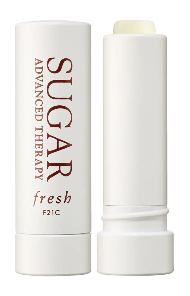"""<p><strong>Fresh</strong></p><p>sephora.com</p><p><strong>$26.00</strong></p><p><a href=""""https://go.redirectingat.com?id=74968X1596630&url=https%3A%2F%2Fwww.sephora.com%2Fproduct%2Fsugar-advanced-therapy-lip-treatment-P302103&sref=https%3A%2F%2Fwww.goodhousekeeping.com%2Fbeauty-products%2Fg34238680%2Fbest-lipsticks%2F"""" rel=""""nofollow noopener"""" target=""""_blank"""" data-ylk=""""slk:Shop Now"""" class=""""link rapid-noclick-resp"""">Shop Now</a></p><p>This Fresh lip balm, a GH Beauty Lab test winner, does more than just soften lips. In Lab evaluations, <strong>the treatment was the best at reducing testers' lip lines</strong> in four weeks, thanks to line-filling <a href=""""https://www.goodhousekeeping.com/beauty/anti-aging/a32106722/what-is-hyaluronic-acid-benefits/"""" rel=""""nofollow noopener"""" target=""""_blank"""" data-ylk=""""slk:hyaluronic acid"""" class=""""link rapid-noclick-resp"""">hyaluronic acid</a> and nourishing jojoba and grape-seed oils.</p>"""