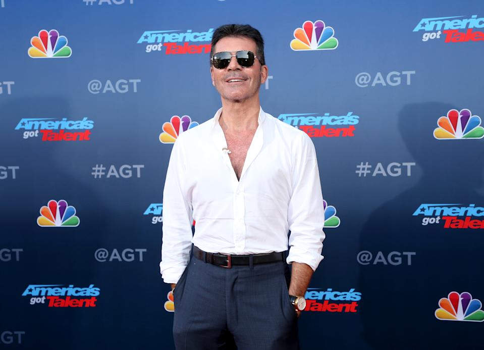 "PASADENA, CALIFORNIA - MARCH 04: Simon Cowell attends the ""America's Got Talent"" Season 15 Kickoff at Pasadena Civic Auditorium on March 04, 2020 in Pasadena, California. (Photo by Phillip Faraone/FilmMagic)"