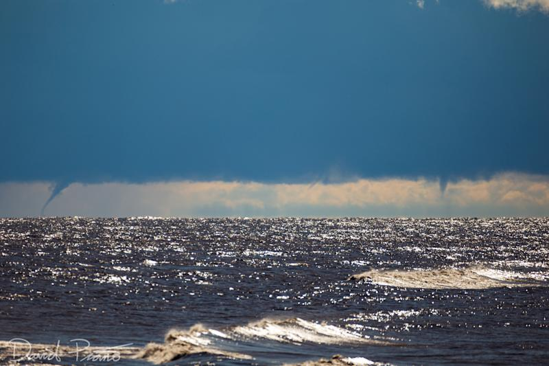 Mark Robinson: Lake Erie waterspout, Oct. 3, 2020 3