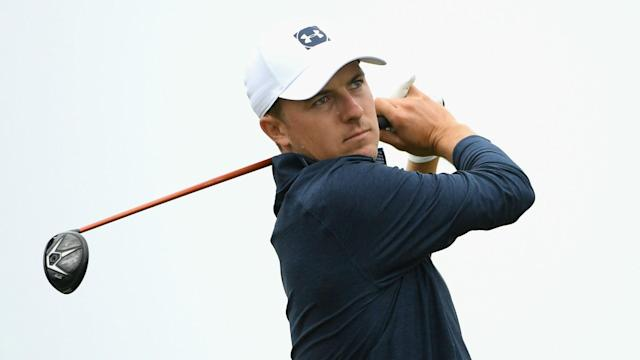 Jordan Spieth was four over after two holes of the U.S. Open and the three-time major winner was far from the only player struggling.