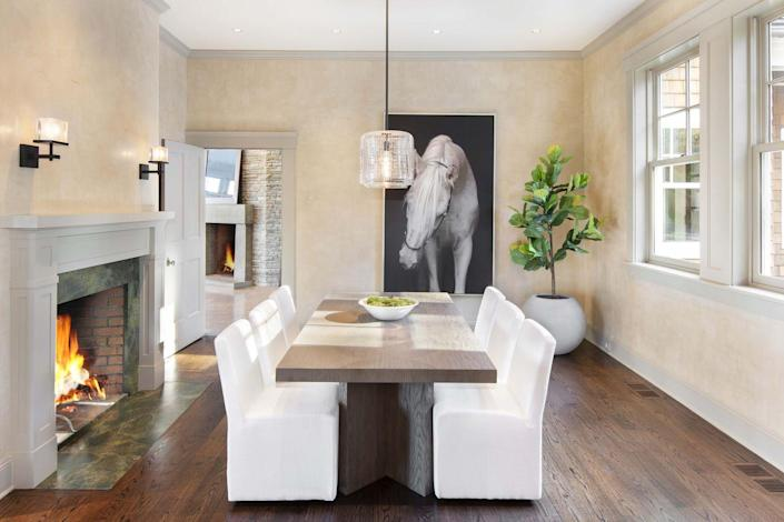 """<p>In """"<a rel=""""nofollow noopener"""" href=""""https://www.elledecor.com/celebrity-style/celebrity-homes/a12469486/bruce-willis-home/"""" target=""""_blank"""" data-ylk=""""slk:The Domestication of Bruce Willis"""" class=""""link rapid-noclick-resp"""">The Domestication of Bruce Willis</a>,"""" the star told his friend and film collaborator M. Night Shyamalan that he left the design decisions to his wife, Emma Heming Willis.</p>"""