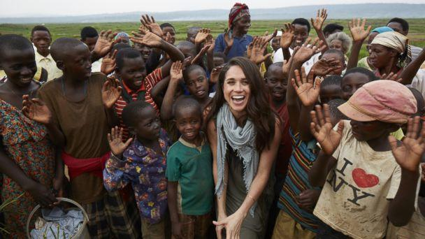 PHOTO: Meghan Markle has been an outspoken humanitarian. She became a global ambassador for the charity, World Vision, after visiting a rural area of Rwanda in 2016. (picture alliance/Newscom FILE)
